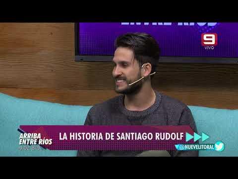 Entrevista al futbolista Santiago Rudolf