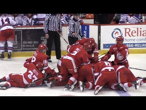 VIDEO: It's party time! OHL final begins tonight - SooToday com