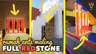 RUMAH ANTI MALING - Full Redstone