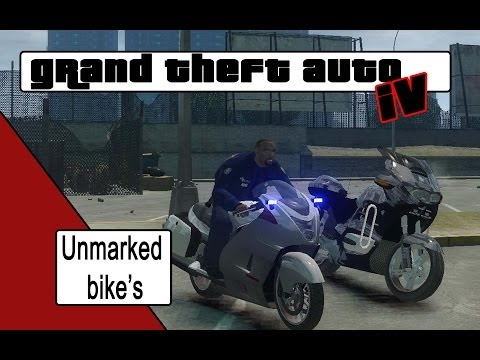 GTA 4 Unmarked Bikes [NL]