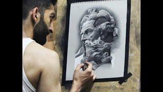 Simple Zeus Drawings Easy 4