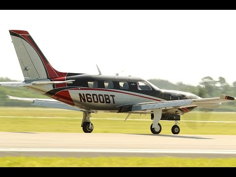 Piper M600 Turboprop Flight Trial
