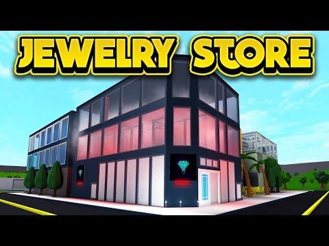 THE JAILBREAK JEWELRY STORE IN BLOXBURG! (ROBLOX Bloxburg)