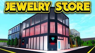 THE JAILBREAK JEWELRY STORE IN BLOXBURG! (ROBLOX Bloxburg)