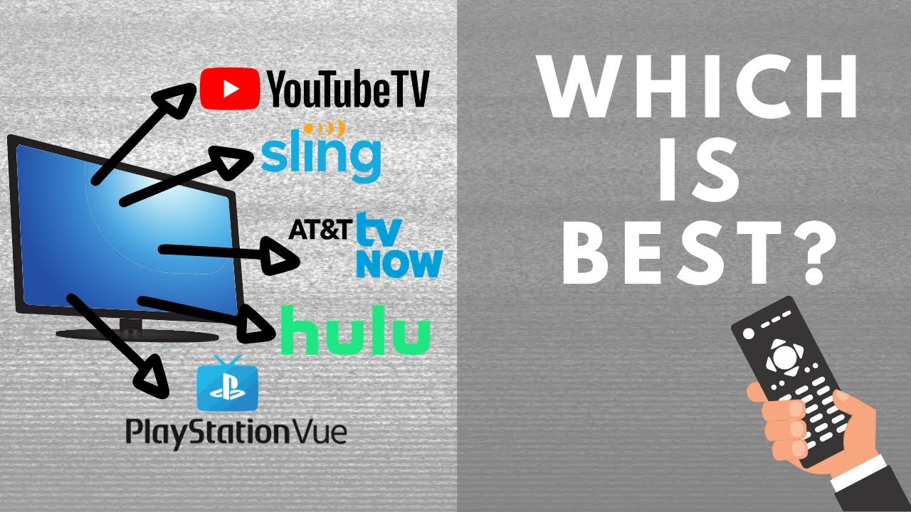 Best Tv Service >> Best Streaming Tv Service Youtube Tv Vs Hulu Live Vs Sling Vs At T Tv Now Vs Playstation Vue