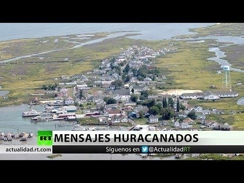 El huracán Florence amenaza con hacer desaparecer una isla de EE.UU.