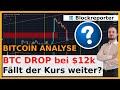 Bitcoin Kurs bei $12000 eingebrochen! So tief könnte die ...