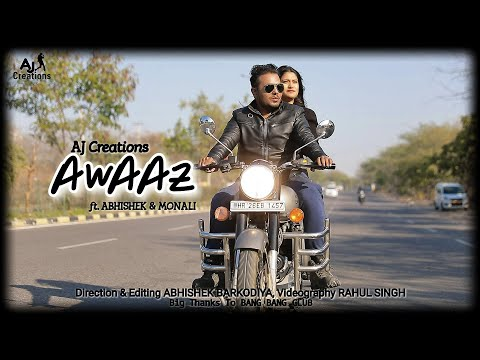 Awaaz Cover Video  By AJ Creations
