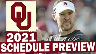 Oklahoma Sooners 2021 Football Schedule Preview