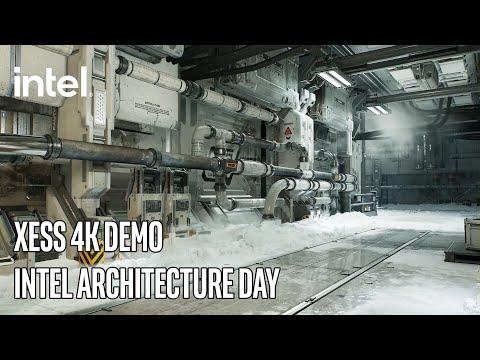 XeSS 4K Upscaling Demo - Intel Architecture Day | Intel Technology