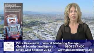NHBA Gold Sponsor 2013 - Global Security Intelligence