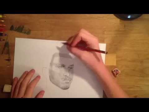 Zlatan Ibrahimovic Pencil Drawing | ThatGuyWill