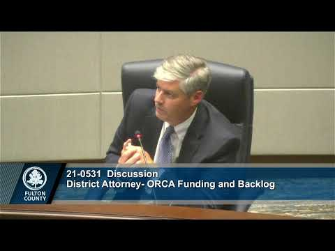 Fulton County Board of Commissioners Meeting July 14, 2021