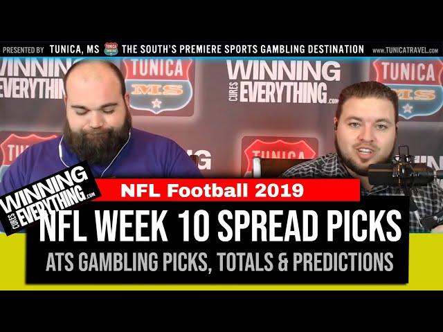 WCE: 2019 NFL Against the Spread Picks Week 10 (Gambling Picks)