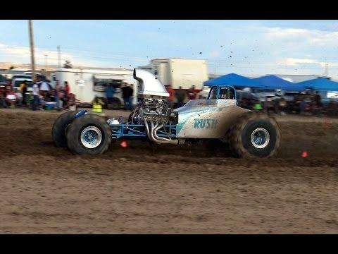 Arizona Mud Racing - Super Modified Chinle, AZ 2015 Part 1