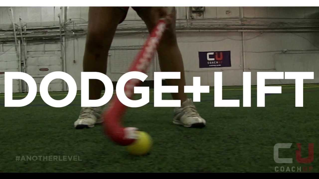 field hockey tips   dodge  lift youtube