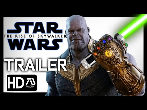 Avengers Infinity War (STAR WARS: RISE OF THE SKY WALKER Style)