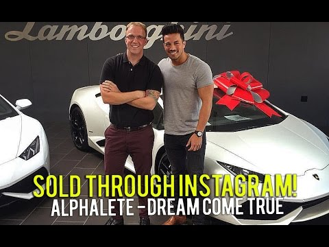 Selling A Lamborghini To Christian Guzman