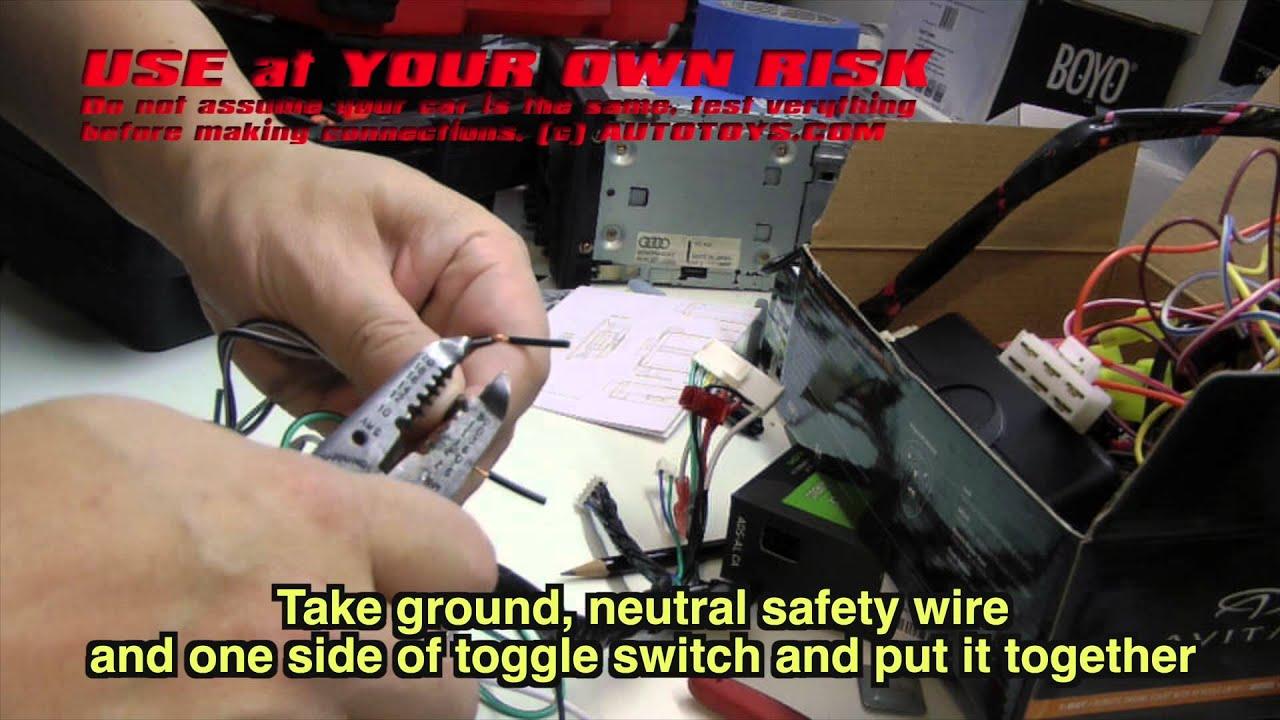 medium resolution of honda crv remote start installation uncut use at your own risk