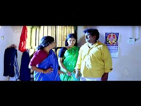 Komal Comedy Scenes - Umashree Interferes In Komal's Married Life Comedy | Chellata Kannada Movie