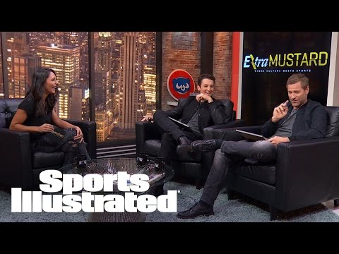 Miles Teller & Aaron Eckhart Quizzed On Their Favorite Teams | Extra Mustard | Sports Illustrated