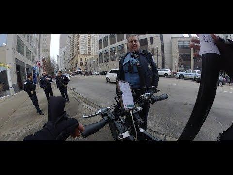 Uber Eats Bike Delivery Chicago
