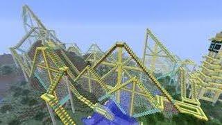 Die größte Achterbahn die ich in Minecraft gesehen habe!!!
