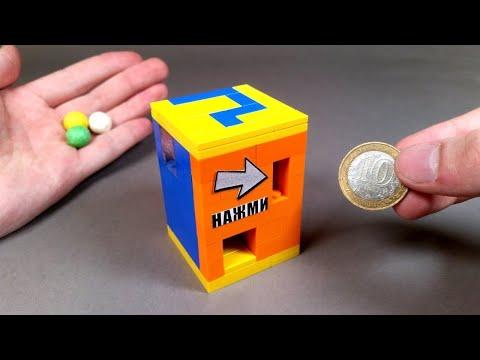 How to Build a Lego Candy Machine without Technic