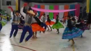 Baile  I.E. Manuel Murillo Toro  .Chaparral Tolima l.2015