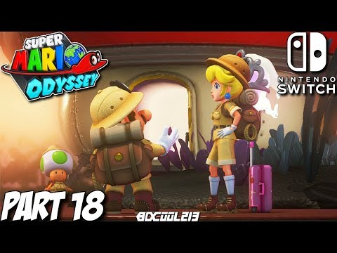Super Mario Odyssey Gameplay Walkthrough Part 18 - Cloud & Lost Kingdom - Nintendo Switch Lets Play