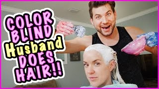 jesse does terra s hair   how does it turn out   smelly belly tv   family vlog