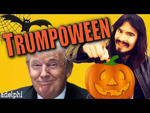 Irish People's 'TRUMPOWEEN' - 'Trump Urinal' - @AdelphiDub