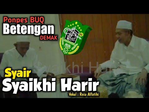 BUQ BETENGAN DEMAK - Syair KH. HARIR MUHAMMAD BIN MUHAMMAD BIN MAHFUDZ AT TURMUSIY