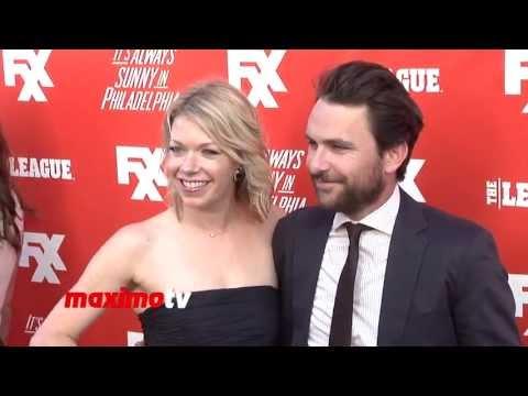 "Charlie Day & Mary Elizabeth Ellis FXX ""It's Always Sunny in Philadelphia"" Season 9 Screening"