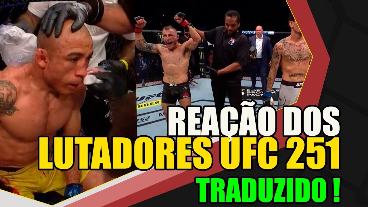 REAÇÃO DOS LUTADORES AO UFC 251: Dana critica árbitro / Holloway roubado?/Durinho pediu Usman