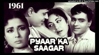 Mujhe Pyar Ki Zindagi Denewale - Pyaar Ka Saagar ASHA BHOSALE MOHAMMED RAFI MD RAVI
