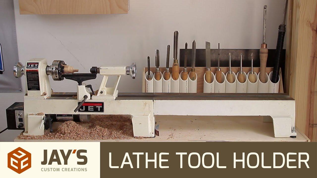 Quick & Easy Lathe Tool Holders - 244 - YouTube