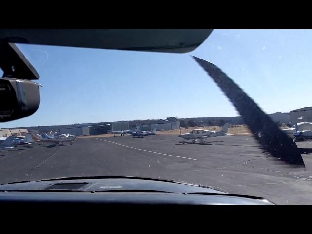 Animas Air Park take off and landing.