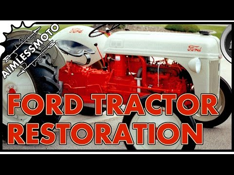 Ford 8N | Antique Tractor Restoration | (PART 1)