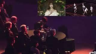 BTS reaction to GFRIEND @Seoul Music Awards 2019