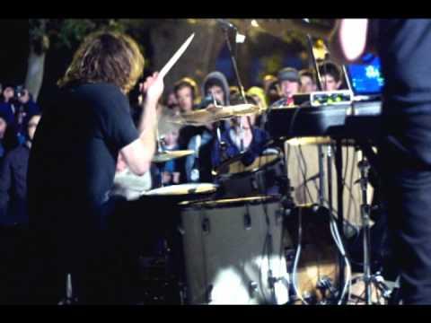 Zach Hill at O:RMF XI - KDVS - Hella - Death Grips