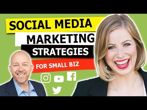 Social Media Marketing - 3 Strategies for Small Business [WEBCAST #21] Yulia Konovnitsyna