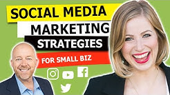 Social Media Marketing - 3 Strategies for Small Business [WEBCAST #21] Yulia Konovnitsyna