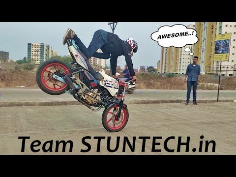 One of Best Stunt Riding Team From Pune