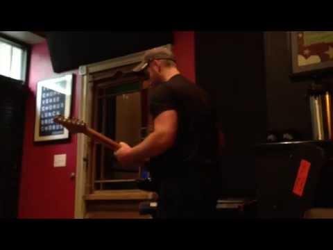 In the recording studio 9-15-14