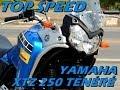 YAMAHA 250 TÉNÉRÉ - TOP SPEED (HD)