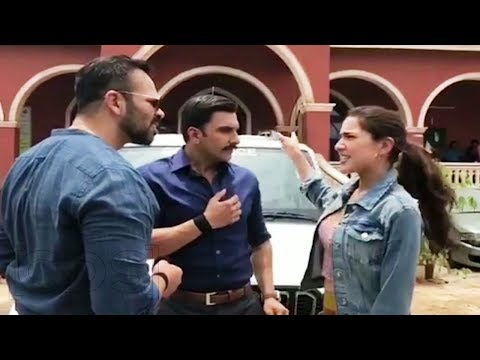 Simba Movie FUNNY Video | Teaser | Ranveer Singh PRANKS Sara Ali Khan