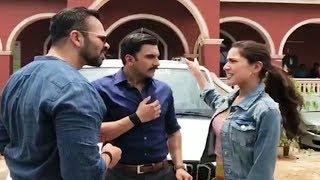 Simba Movie FUNNY Video  Teaser  Ranveer Singh PRANKS Sara Ali Khan