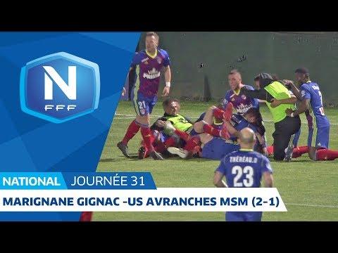 J31 : Marignane-Gignac - US Avranches MSM (2-1), le résumé
