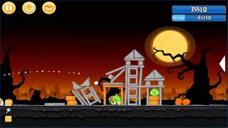 Angry Birds trick or treat 3 Estrellas parte 2-8